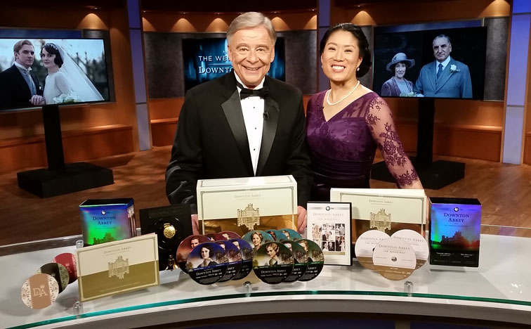 Alice Ferris with Ken Verdoia, supporting a PBS pledge drive